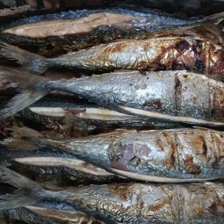 Cá nục nướng