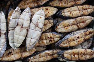 Đặc sản Xứ Nghệ: Cá thu nướng than hồng