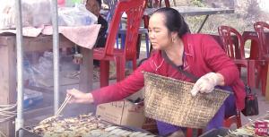 Làng cá nướng xứ biển Quỳnh Lưu vào mùa