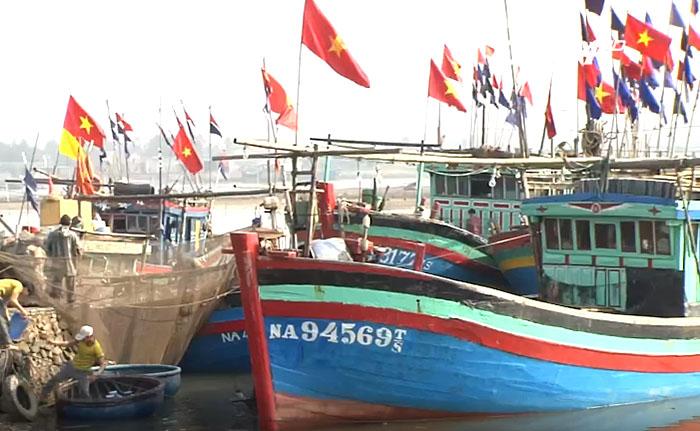 Tàu cá ngư dân Quỳnh Lưu