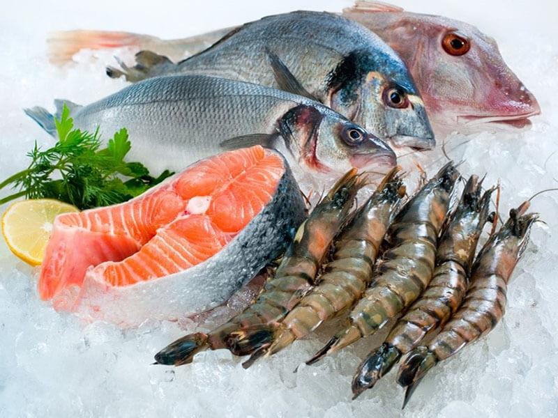 bảo quản hải sản tươi sống