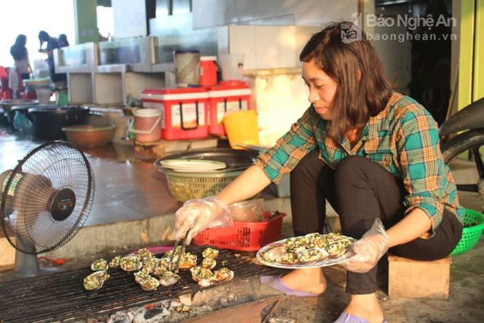 Chế biến hải sản Quỳnh Lưu