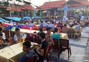 Hải sản Quỳnh Lưu thu hút du khách thập phương
