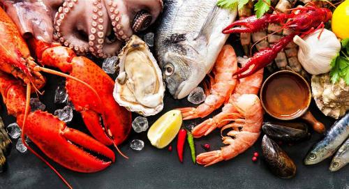 hải sản tốt cho đàn ông